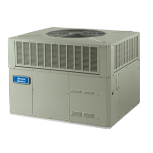 American Standard Silver 13 Packaged Heat Pump System.