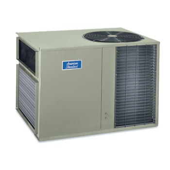 American Standard Silver 14 Over-Under Heat Pump System.